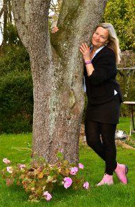 Træ-kramning :)