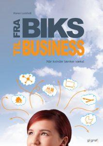 """Bogen """"Fra biks til business - når kvinder tænker vækst"""" handler også om work-life balance."""
