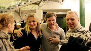 Karstenen Lauritsen, Uffe Elbæk og Katrina Feilberg