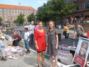 På blokvognen med Cecilia Lonning-Skovgaard