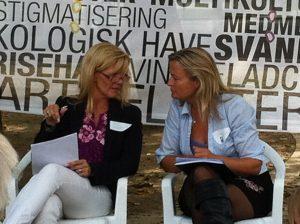 I panel med Mette Reissmann