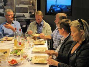 Middag med fødevareministeren - Folkemødet